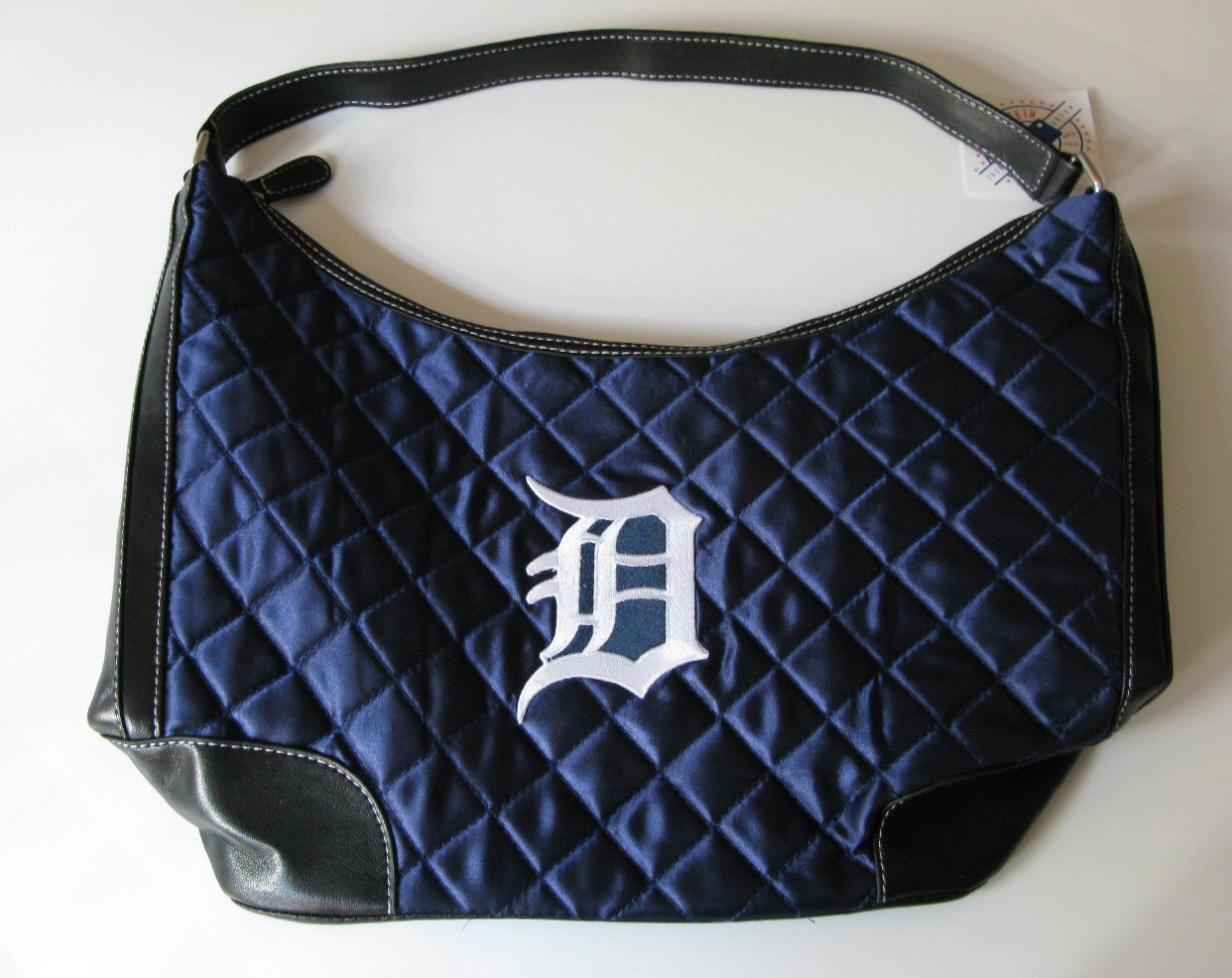 Detroit Tigers Littlearth Quilted Hobo Bag Purse