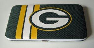 Green Bay Packers Football Jersey Clutch Shell Wallet