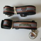 Pittsburgh Pirates Pet Dog Leash Set Collar ID Tag XS