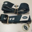 New York Jets Pet Dog Leash Set Collar ID Tag XS