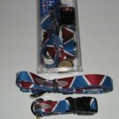 Colorado Avalanche Pet Dog Leash Set Collar ID Tag XS
