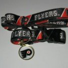 Philadelphia Flyers Pet Dog Leash Set Collar ID Tag XS