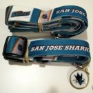 San Jose Sharks Pet Dog Leash Set Collar ID Tag XS