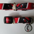 Cincinnati University Bearcats Pet Dog Leash Set Collar ID Tag XS
