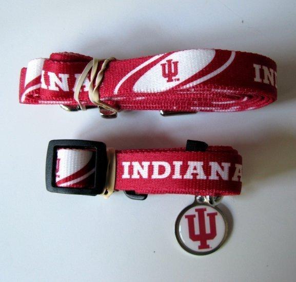 Indiana University Dog Collar