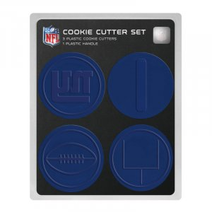 New York Giants Logo Football Goal Post Cookie Cutter Set