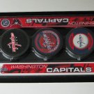 Washington Capitals Mini Hockey Sticks Foam Pucks Play Set