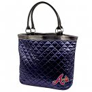 Atlanta Braves Littlearth Quilted Tote Bag Purse