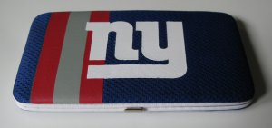 New York Giants Football Jersey Clutch Shell Wallet