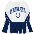 Indianapolis Colts Pet Dog Cheerleader Dress Outfit XS