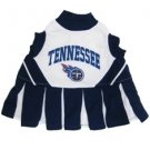 Tennessee Titans Pet Dog Cheerleader Dress Outfit Medium