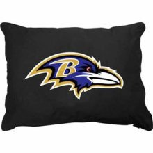 "Baltimore Ravens 27"" x 36"" Plush Pet Dog Bed or Large Pillow"