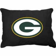 """Green Bay Packers 27"""" x 36"""" Plush Pet Dog Bed or Large Pillow"""
