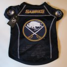 Buffalo Sabres Pet Dog Hockey Jersey Small v3