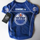 Edmonton Oilers Pet Dog Hockey Jersey Large