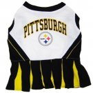 Pittsburgh Steelers Pet Dog Cheerleader Dress Outfit XS