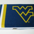 West Virginia University Mountaineers Football Jersey Clutch Shell Wallet