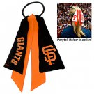 San Francisco Giants Ponytail Holder Hair Tie Ribbon