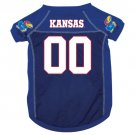 Kansas University Jayhawks Pet Dog Football Jersey Medium