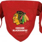 Chicago Blackhawks Pet Dog Hockey Jersey Bandana S/M