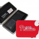 Philadelphia Phillies Baseball Jersey Clutch Shell Wallet