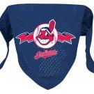 Cleveland Indians Pet Dog Baseball Jersey Bandana M/L