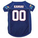 Kansas University Jayhawks Pet Dog Football Jersey Large