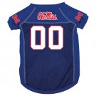 Mississippi University Rebels Pet Dog Football Jersey Small