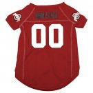 Ohio State University Buckeyes Pet Dog Football Jersey Large