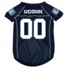 UCONN Connecticut Huskies Pet Dog Football Jersey Large