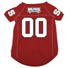 North Carolina State Wolfpack Pet Dog Football Jersey Small