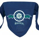 Seattle Mariners Pet Dog Baseball Jersey Bandana S/M