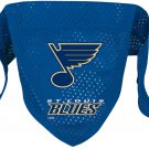 St. Louis Blues Pet Dog Hockey Jersey Bandana S/M