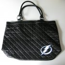 Tampa Bay Lightning Littlearth Quilted Tote Bag Purse
