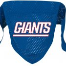 New York Giants Pet Dog Football Jersey Bandana S/M