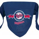 Minnesota Twins Pet Dog Baseball Jersey Bandana M/L