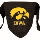 Iowa University Hawkeyes Pet Dog Football Jersey Bandana S/M