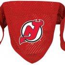 NJ New Jersey Devils Pet Dog Hockey Jersey Bandana S/M