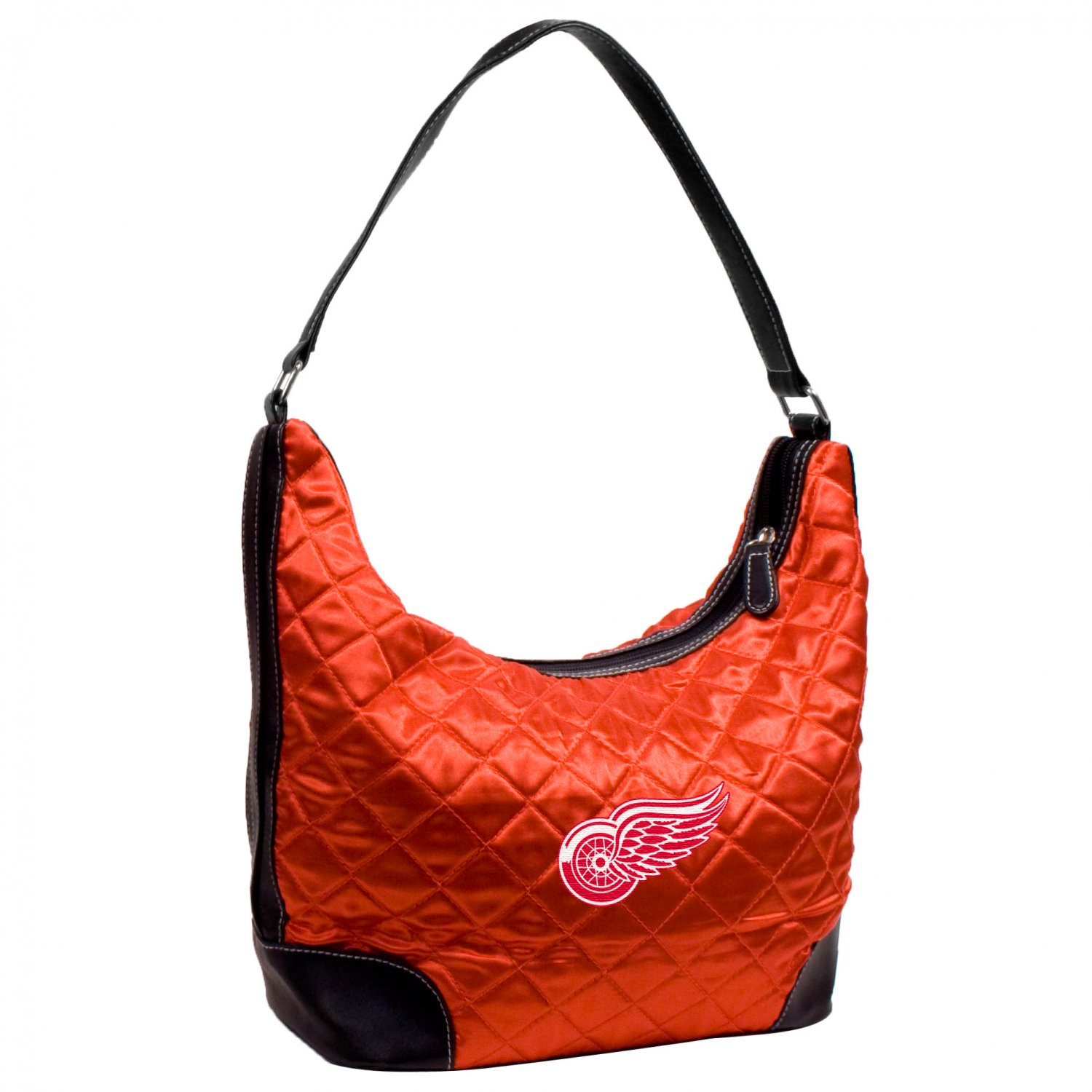 Detroit Red Wings Littlearth Quilted Hobo Bag Purse
