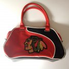 Chicago Blackhawks Perf-ect Bowler Purse w/ Jersey Laces