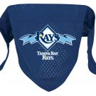 Tampa Bay Rays Pet Dog Baseball Jersey Bandana S/M