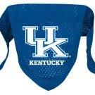 Kentucky University Wildcats Pet Dog Football Jersey Bandana M/L