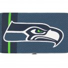 Seattle Seahawks Football Jersey Clutch Shell Wallet