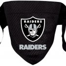 Oakland Raiders Pet Dog Football Jersey Bandana M/L