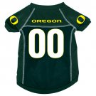 Oregon University Ducks Pet Dog Football Jersey Small