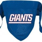 New York Giants Pet Dog Football Jersey Bandana M/L