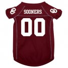 Oklahoma University Sooners Pet Dog Football Jersey XL