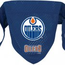 Edmonton Oilers Pet Dog Hockey Jersey Bandana M/L