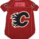 Calgary Flames Pet Dog Hockey Jersey Small