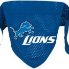 Detroit Lions Pet Dog Football Jersey Bandana M/L
